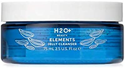 Facial Cleanser, Elements Jelly Cleanser by H2O+ Beauty, Makeup Remover, Gel to Foam Texture, 2.5 Fluid Ounce