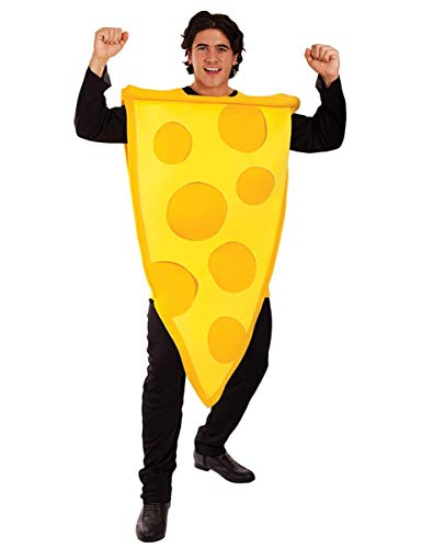 Who needs pepperoni when you're the big cheese? This costume is great for costume parties or food events. And who doesn't like a slice, right?