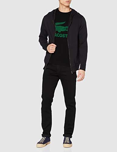 Lacoste Men's Th2166 T-Shirt, Black, M