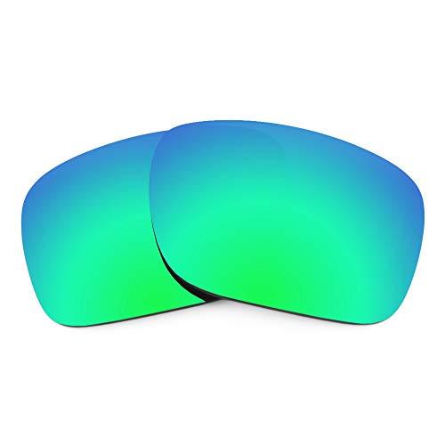 Revant Lentes de Repuesto Compatibles con Gafas de Sol Arnette Dashanzi AN4254, Polarizados, Verde Esmeralda MirrorShield
