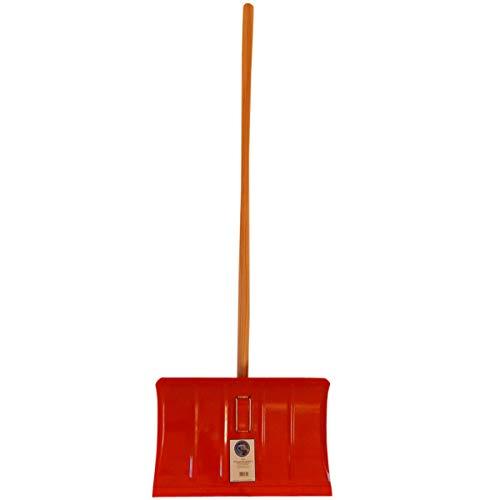 SHW 54782 Schneeschieber Stahlblech 35 x 50 cm, Klemmfix, Alu-Profilkante - 6