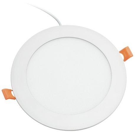 Alverlamp DL18PL60 - Downlight LED, 20W, 6000K, empotrable redondo blanco, chip Led Osram