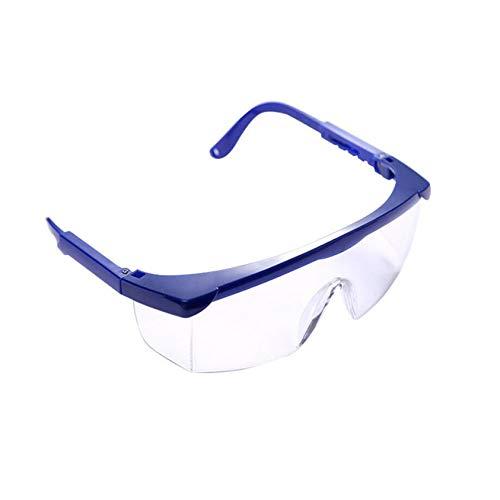 ZYYXB Gafas de sol deportivas unisex, resistentes al viento, a prueba de polvo, antiarena, protección UV, color azul