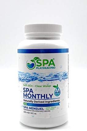 Spa Platinum Pro Natural Hot Tub Treatment Hot Tub Water Treatment Easy to Use Spa Water Treatment product image