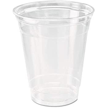 HARVEST PACK 12 oz Crystal Clear Disposable Plastic Cups [200 Count]