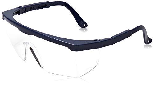 Schutzbrille Tector BASIC klar klassische Schutzbrille mit integriertem Seitenschutz