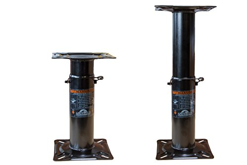 Springfield Marine 169-1561107 Pedestal regulable en altura, 30 cm - 46 cm,...