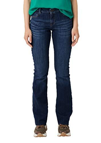 s.Oliver Damen 14.908.71.5690 Bootcut Jeans, Blau (Blue Denim Stretch 58z6), 44/32