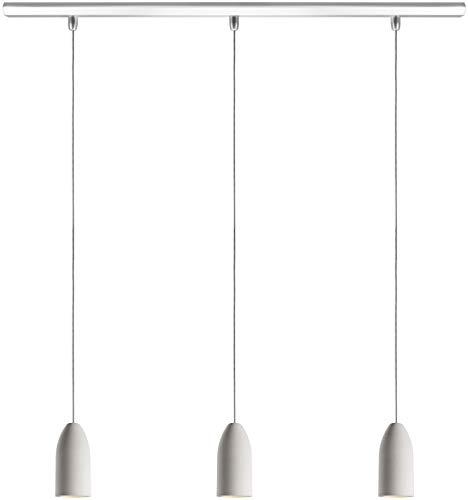 MASTER_3er_chiaro e scuro, Cemento, 03 argento., Beton 'light edition'