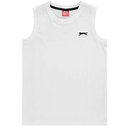 Slazenger Niños Sleeveless Camiseta Sin Mangas