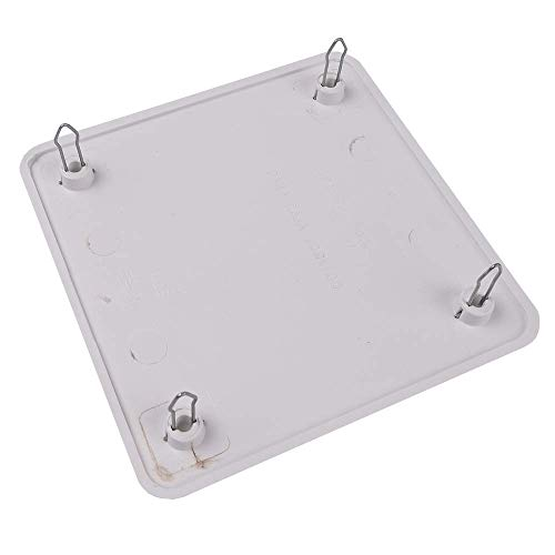 BeMatik - Tapa de Caja de Registro Cuadrada para Caja de 100x100mm