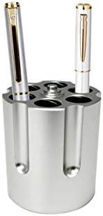 Gun Cylinder Pen Holder Revolver Pen Holder with 6 Bullet Pens Pencil Holder Gun Cylinder Design product image