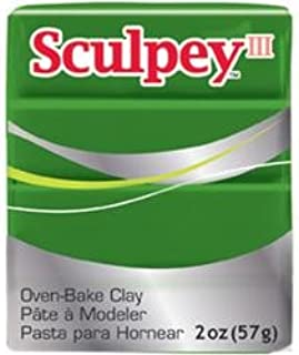 Sculpey Bulk Buy Polyform Sculpey III Polymer Clay 2 Ounces Leaf Green S302-322 (5-Pack)