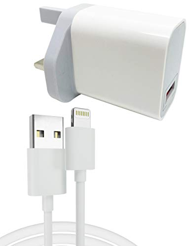 iPad Fast Charger 2.1 amp Light Weight USB Mains Charger