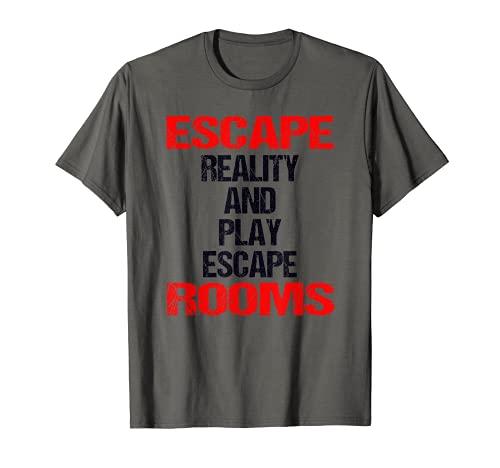 Escape Room escape Reality Exit - Juego de mesa Camiseta
