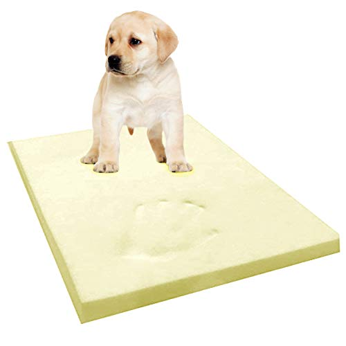 GAX Sports Memory Foam Dog Bed 100% Visco Elastic Cool Gel Mattress Off-Cut Anti-Microbial Cushions Certified Foam Supportive, Pressure Relief Temperature Sensitive & Pain Relief (48 x 36 x 3 inches)