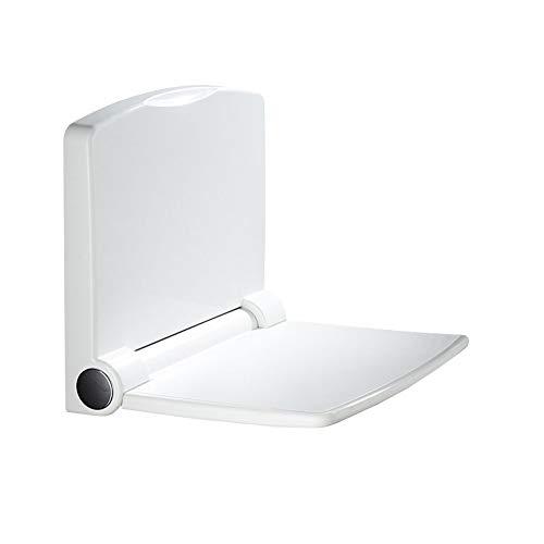 Duschklappsitz Klappsitz Duschsitz für Wandmontage, Duschstuhl Duschhocker, ABS, Belastbar bis 200 kg, Rutschfest