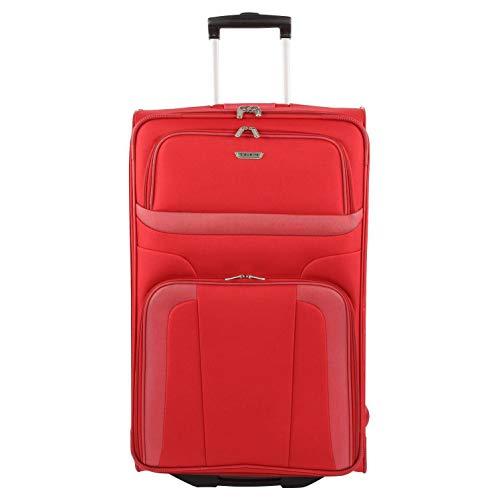 Travelite Orlando Valise à roulettes 73 cm 85 l, Rojo (Rot) (Rouge) - 9848910