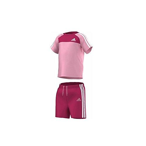adidas Sommer Set Shirt+Hose für Mädchen, Bitte Größe wählen:68
