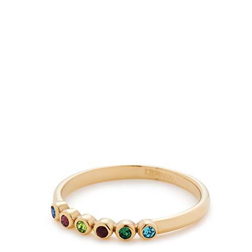 Jewels by Leonardo Damen-Ringe Edelstahl Glas \'- Ringgröße 53 017067