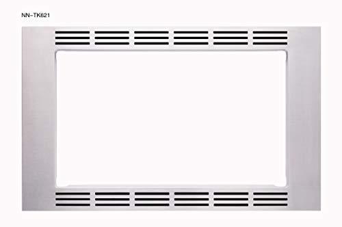 "Panasonic 27"" Trim Kit 1.2cu ft Microwave Oven NN-TK621SS (Stainless Steel), 1.2cft"