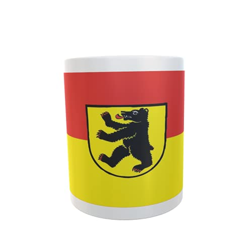 U24 Tasse Kaffeebecher Mug Cup Flagge Bernau im Schwarzwald