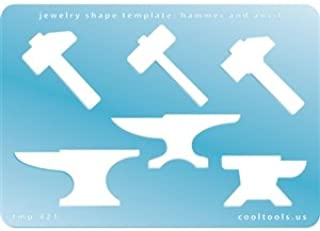 Cool Tools - Jewelry Shape Template - Hammer and Anvil