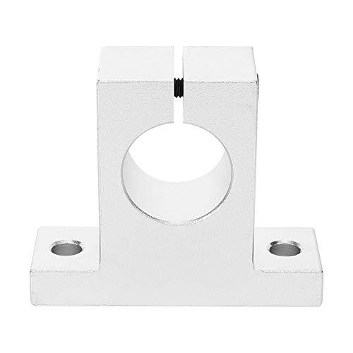Wellenhalterung Hardware Zubehörbefestigung Industrieteile SK30 Aluminiumlegierung für Linearschiene Linearführung Vertikale optische Achsbefestigung