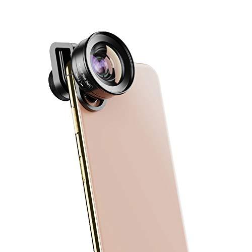 WQYRLJ HD 2 in 1 Camera Telefoon Lens 4K 120 ° Super Wide Hoek 10X Macro Lens voor Iphone Samsung Xiaomi Meeste Smartphones