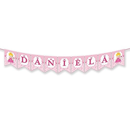 EuroFiestas Guirnalda Nombre Daniela, Aida, Ana, Ada, Laia, Diana, Adelina, Adela, Nélida, Aina o Naia