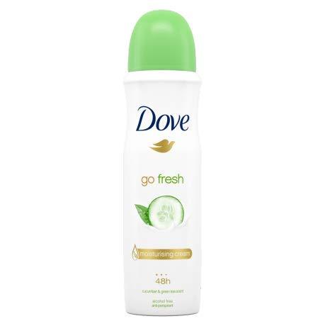 Dove - Go fresh pepino y té verde desodorante 150 ml