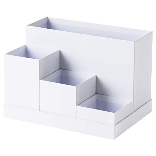 IKEA Schreibtisch-Organizer Tjena weiß 603.954.52 Größe 7x6 3/4