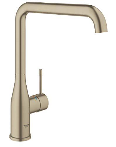 Grohe Essence New - OHM sink L-spout - Brushed Nickel