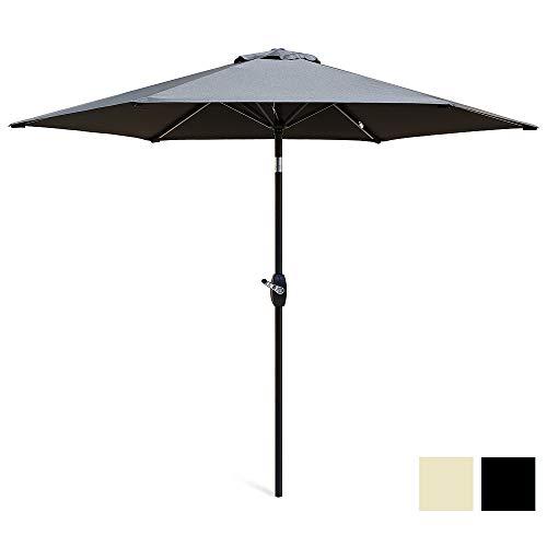 Scelto 2.7M Garden Umbrella with Crank and Tilt