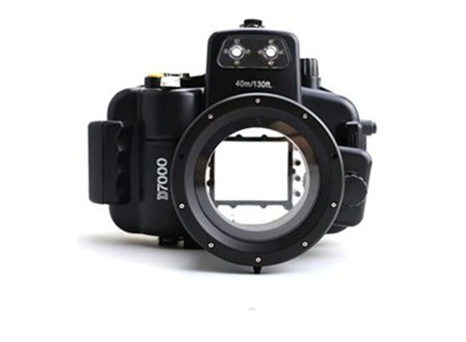 Polaroid SLR Dive Rated Waterproof Underwater Housing Case For The Nikon D7000 SLR Camera with a 18-55mm Lens