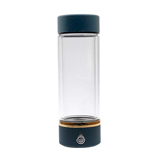 Zhenwo 450 Ml De Caldera De La Botella Alcalina SPE Tecnología De Membrana De Hidrógeno-Agua/PEM Ionisatorfilter No Ozono, No Cloro Residual Portátil,A