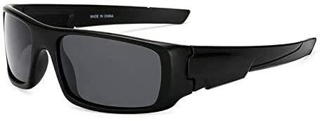 LEIXIN Squashbrille Sport polarisierte Sonnenbrille Außen einen.Kreislauf.durchmachenglas Windschutzscheibe Sonnenbrillen Outdoor Brille (Color : A)