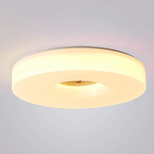 Pendelleuchte, Neue chinesische LED-Deckenleuchte Moderne minimalistische Leuchte Runde Wohnzimmerlampe Schlafzimmer Gang Chinesische Kupferleuchter (Typ b)