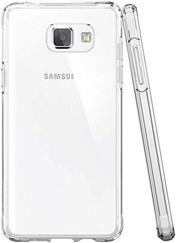 NEW'C Cover per Samsung Galaxy A5 2016, Custodia Gel Trasparente Morbida Silicone Sottile TPU [Ultra Leggera e Chiaro]