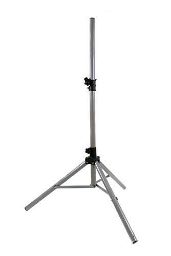 Opticum Dreibein Sat-Stativ Premium Aluminium (Camping Sat Stativ ausziehbar 150cm, bis 80cm Antennendurchmesser, 3x Heringe, einfache Installation)