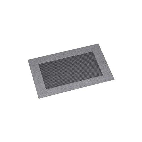 KESPER Set de Table en plastiqué en Argent-Amende, Plastique, 43x29x0,1 cm