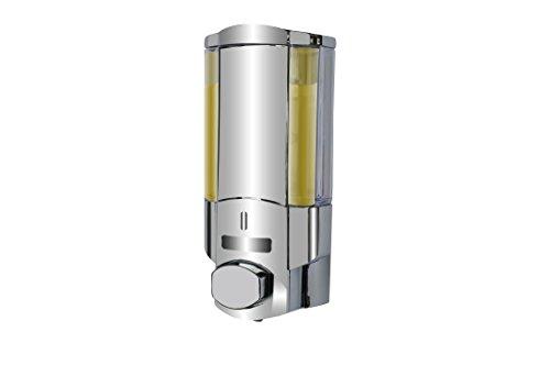 BETEC 69103 Seifenspender und Hygienespender Ecoline I Chrom auch für Desinfektionsmittel