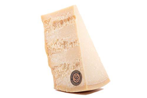 Parmigiano Reggiano D.o.p. di MONTAGNA No Ogm | 36 Mesi | 1kg | Taglio Fresco | Primissima Scelta | Sottovuoto
