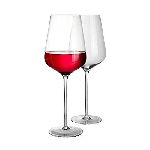 CGDZ Plomo, Cristal, Hecho por el Hombre, Vino Tinto, Vino, cristalería, Vino, Gran Capacidad, Copa de Vino, 1100ml / 38oz 900ml 10060 2PCS