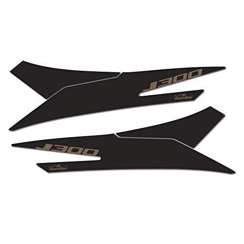 Adhesivos 3D Protección Estribos Compatible con Scooter Kawasaki J300