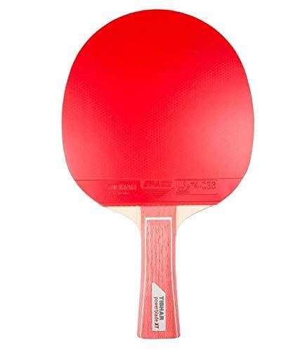 Tibhar Powerblade XT Raquette de tennis de table avec poignée concave TT interchangeable