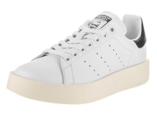 Adidas Stan Smith - Scarpe da tennis da donna, casual, (Calzature bianco/bianco sporco), 35.5 EU