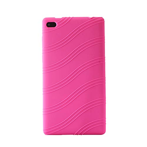 Yudesun Funda para Lenovo Tab 7 Essential - Silicona Suave Skin A Prueba de choques Durable Caucho Cáscara Protector Funda para Lenovo Tab 7 Essential TB-7304F/X/I 7' Tablet