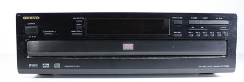 Fantastic Prices! Onkyo DV-C601 6 Disc DVD Changer Player