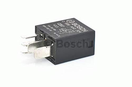 Bosch 0986AH0304 - Microrelé (12 V, 20 A, 5 terminales, IP5K4, resistencia a temperaturas de -40 °C a 85 °C)